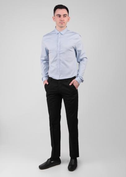 Рубашка мужская текстильная из хлопчатобумажной п