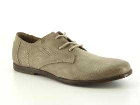 B6-204-02-1 (серый) Полуботинки кожа/без подкладки